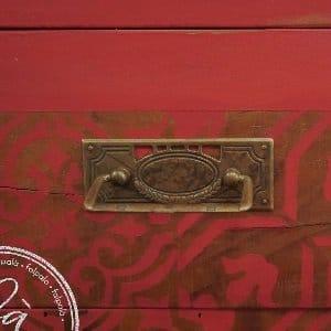 MOB.028 Cassettiera in legno massiccio
